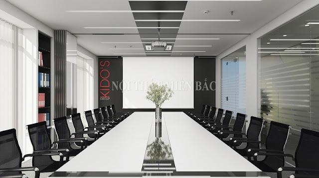 Đa dạng xu hướng thiết kế nội thất phòng họp tiện ích, hiện đại - H1