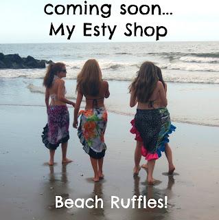 beach ruffles etsy