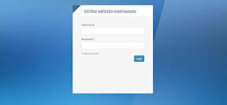 Download Aplikasi absensi Karyawan Berbasis Web dengan PHP - Mysql