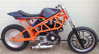 ians project buell frame side right