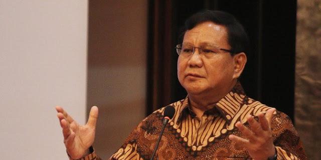 Prabowo: Di depan rakyat Indonesia, saya minta maaf