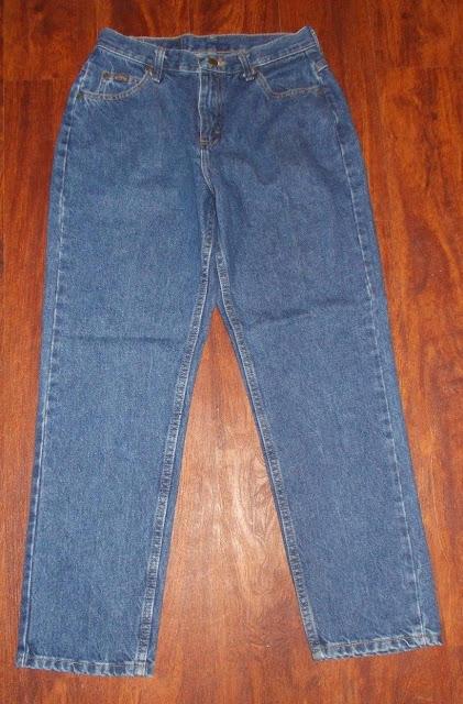 Women's Vintage Rider's Denim Blue Jeans Size 6 Petite