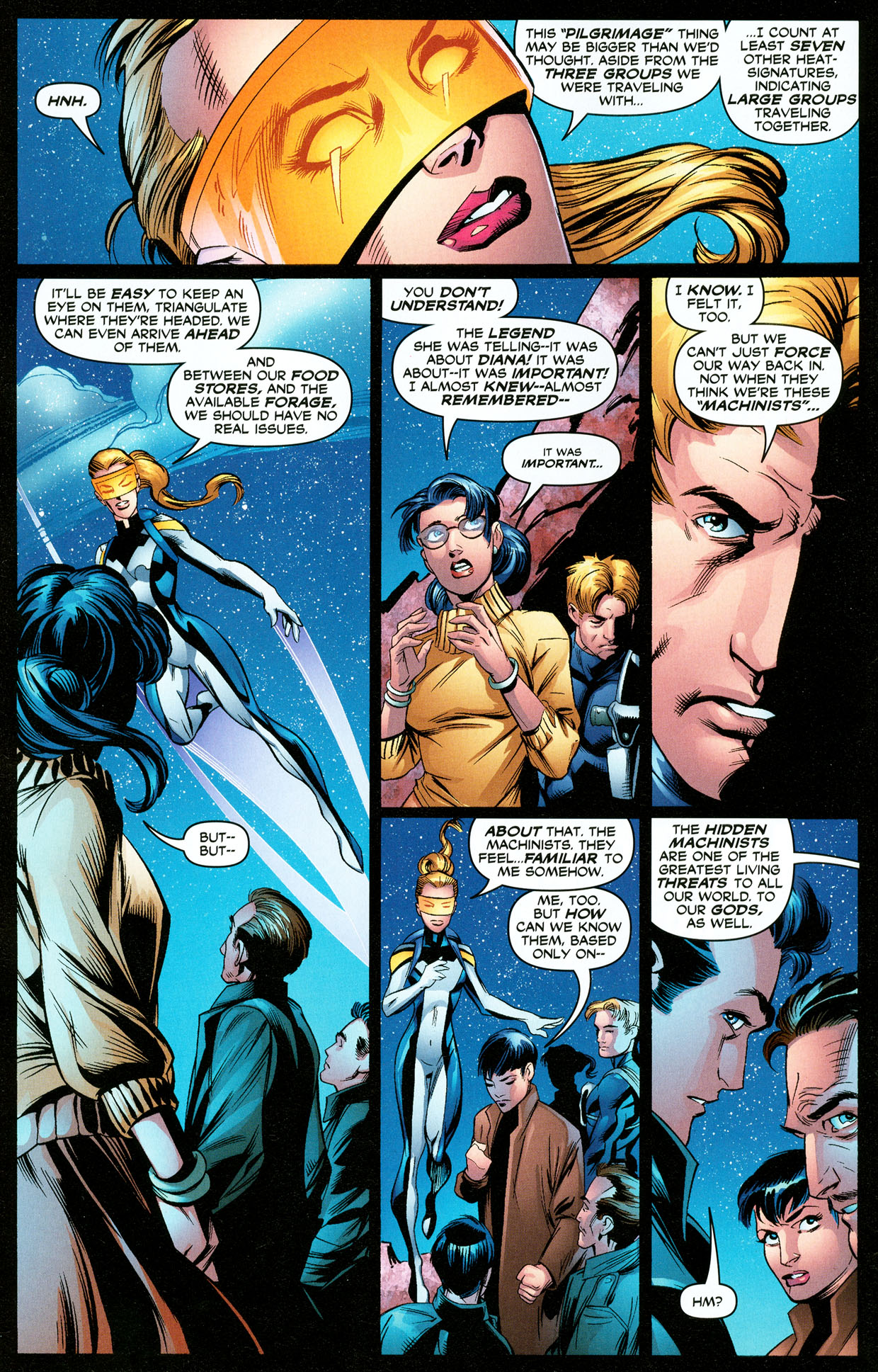 Read online Trinity (2008) comic -  Issue #33 - 6