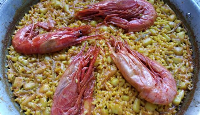 arroz con carabineros