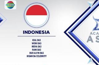 Wakil peserta Dangsut Academy Asia 2 asal Indonesia
