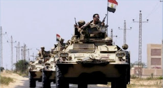 Attack against the Errawda Mosque: The response of the Egyptian army
