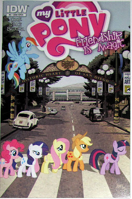 MLP:FiM comic issue #9 SDCC cover