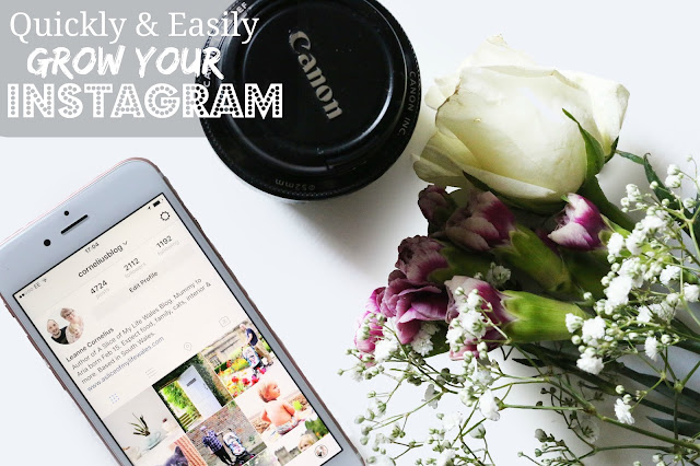 iphone camera lens and flowers flatlay for blog header photo quickly & easily grow your instagram