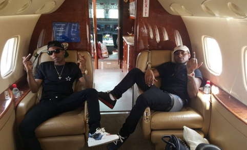 davido wizkid settle fight