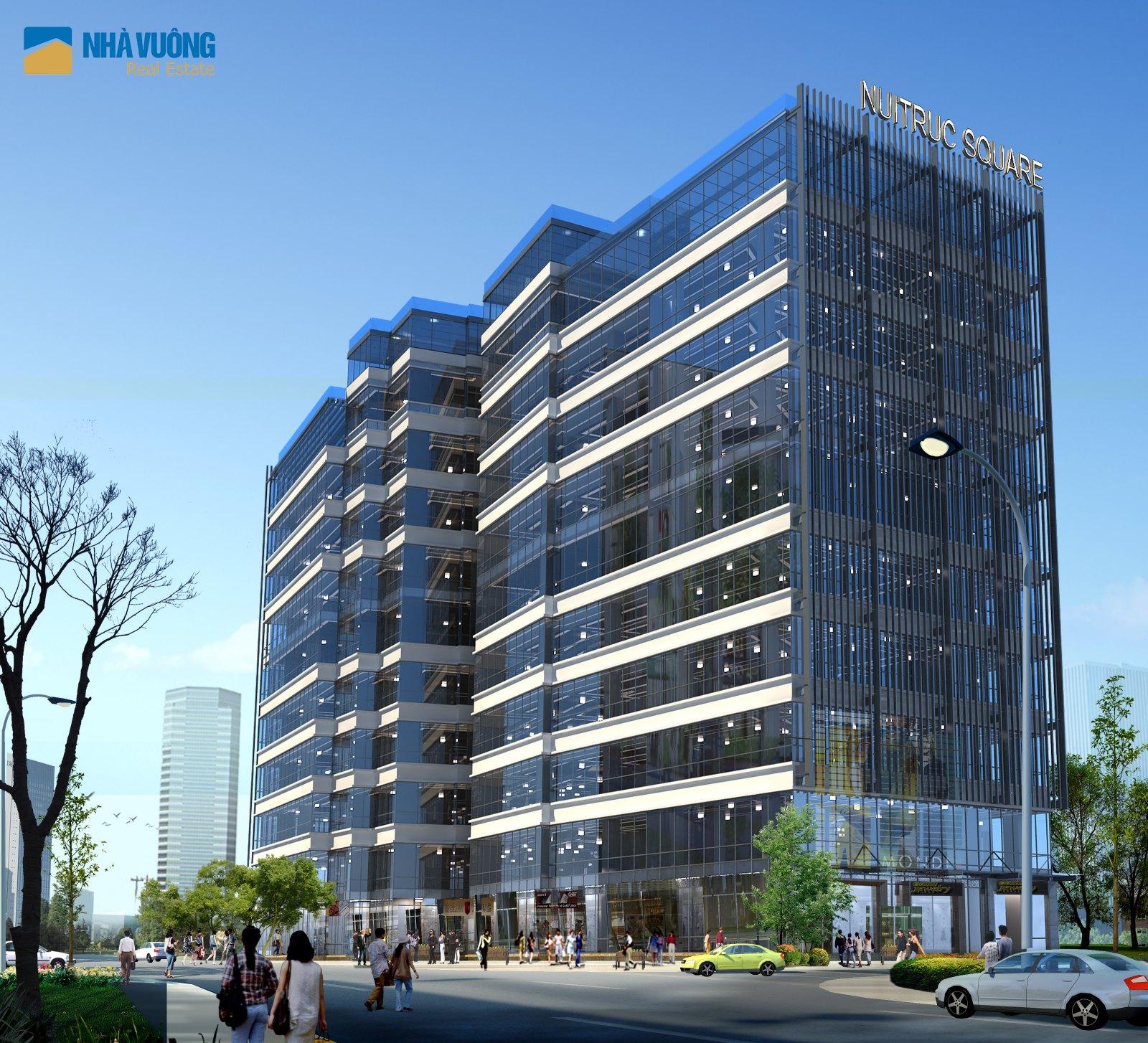 Nhà vuông phân phối chính thức dự án Núi Trúc Square