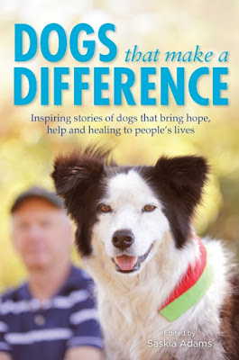 Dogs that make a difference by Saskia Adams book cover in Book Club January 2017