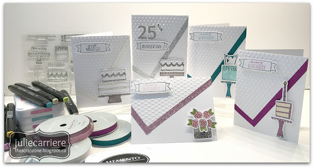 CTMH Celebrate with Cake card set
