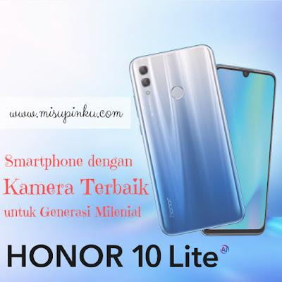 honor 10 lite smartphone dengan kamera terbaik
