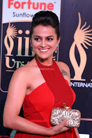 Sraddha in Sleeveless Red Gown at IIFA Utsavam Awards 2017  Day 2  HD Exclusive 05.JPG