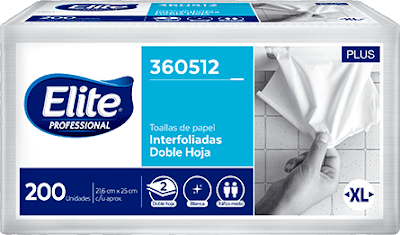 Papel toalla Interfoliado Doble Hoja Clasica XL