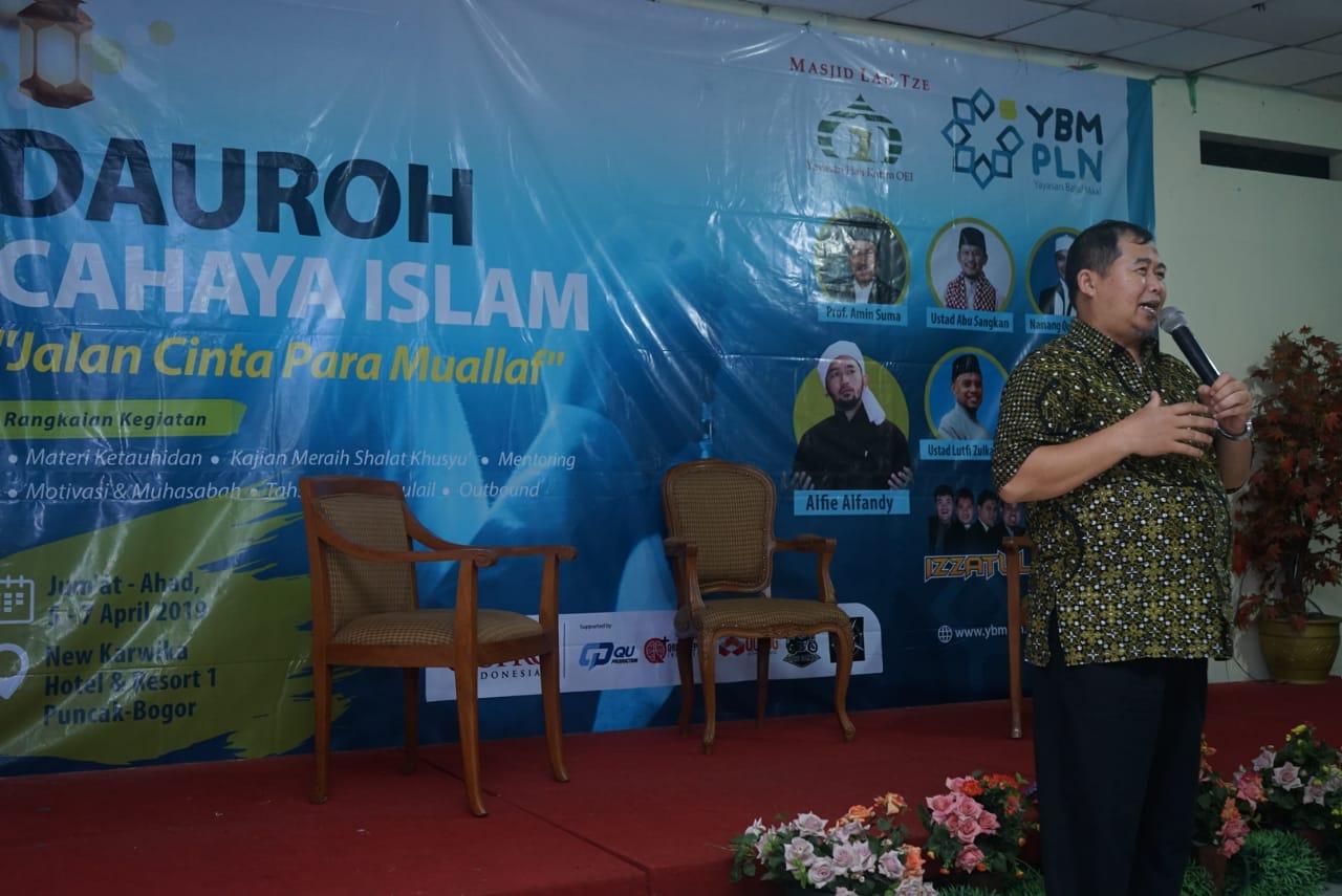 Sambut Ramadhan, YBM PLN Gelar Dauroh Mualaf