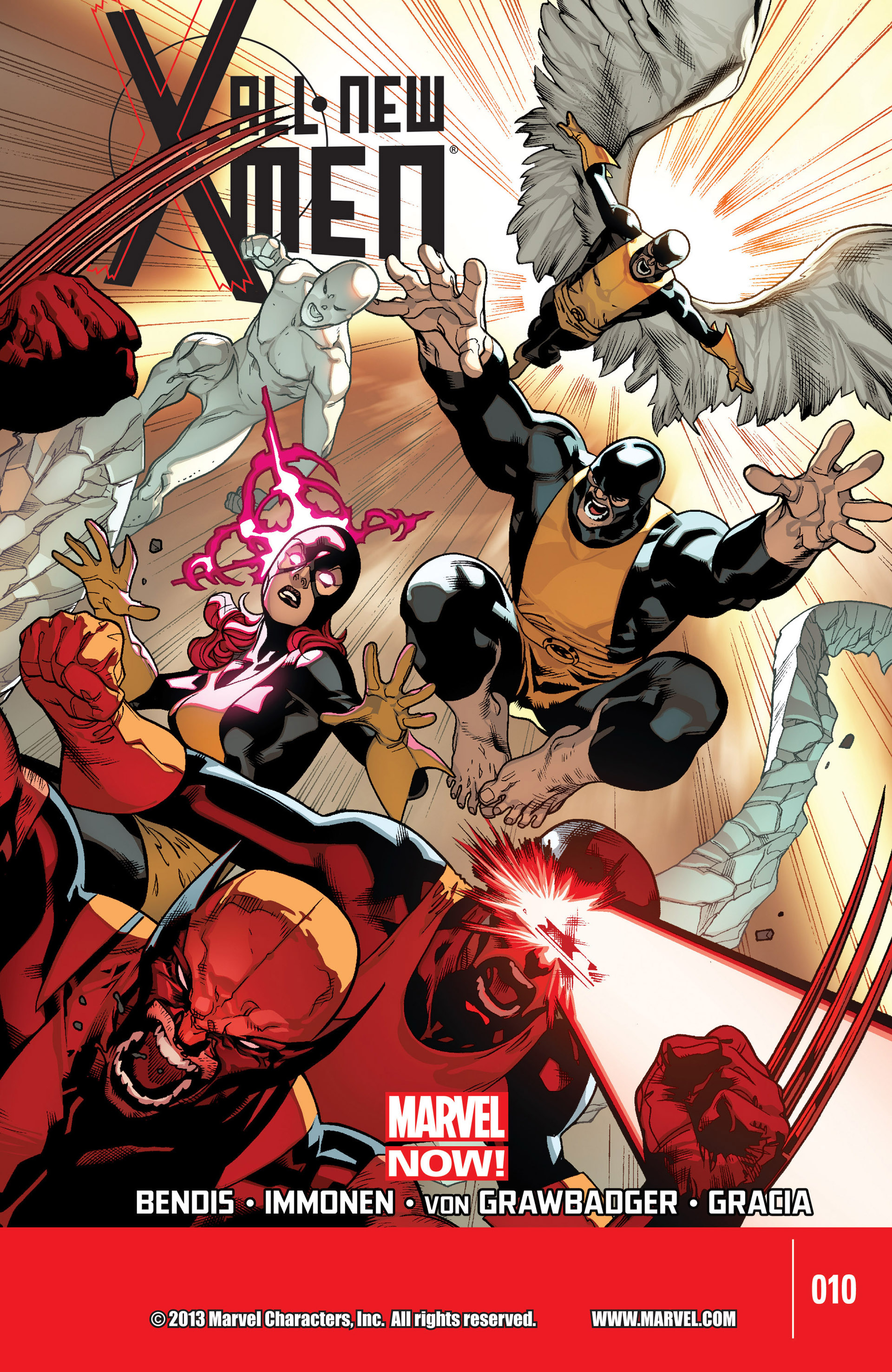 Read online All-New X-Men (2013) comic -  Issue #10 - 1