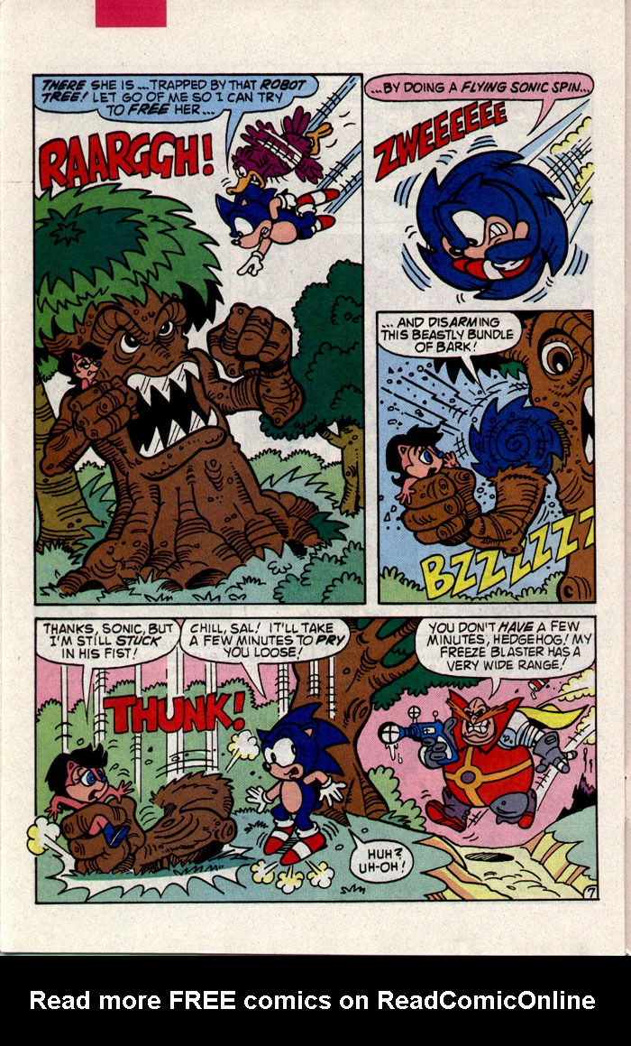 Read online Sonic The Hedgehog comic -  Issue #9 - 21
