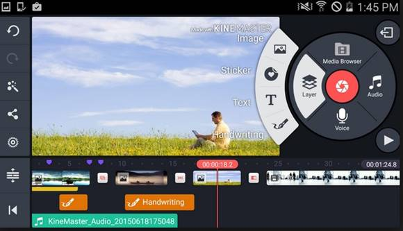 KineMaster Pro Video Editor v4.1.1.9555 Apk Unlocked