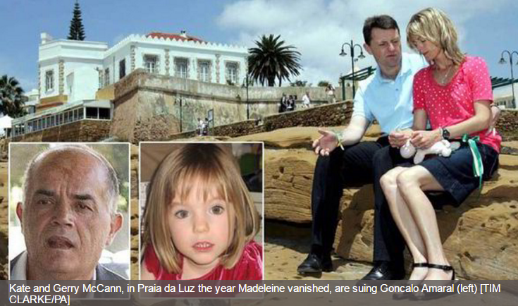 EXCLUSIVE: MI5 spies know what happened to Maddie McCann, claims Portuguese detective