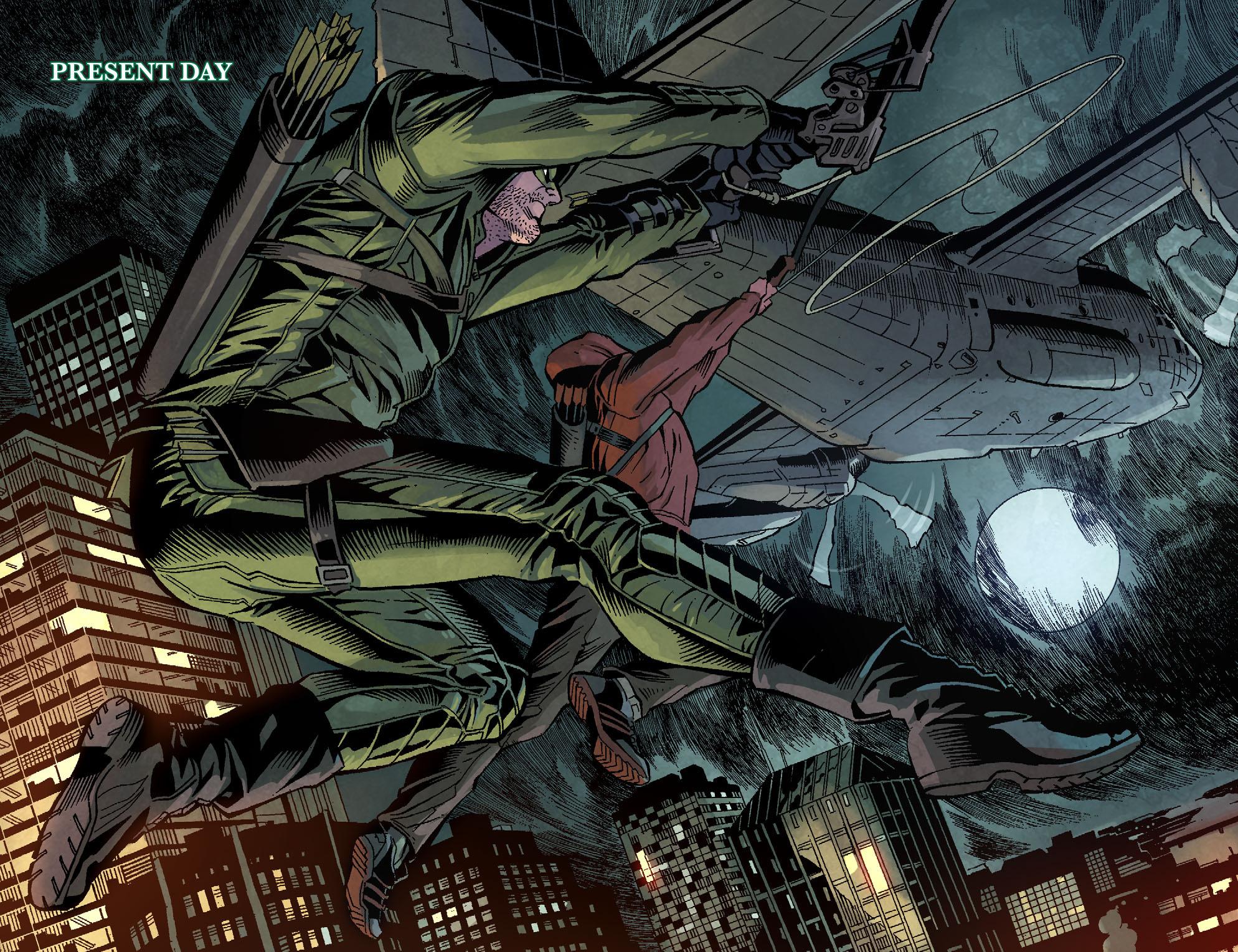 Read online Arrow: Season 2.5 [I] comic -  Issue #1 - 9