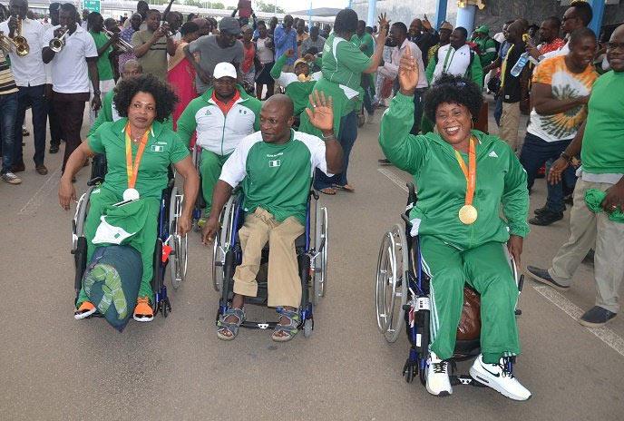 President Buhari congratulates Team Nigeria's victorious Paralympics athletes