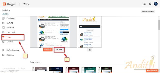 Cara Membuat Kotak Catatan di Postingan Blog-anditii.web.id