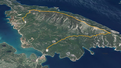 GPS Osorščica Osoršćica  Osorscica Osorcica