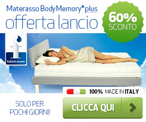 Materassi In Memory Fabricatore.Materasso Body Memory Plus Fabricatore
