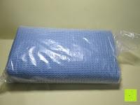 Verpackung: Yoga-Decke »Ananda« Das Yoga-Handtuch ideal für Hot-Yoga und andere schweißtreibende Yogastile. Auch als Unterlage für Yogaübungen geeignet, 183 x 61 cm, in vielen Farben