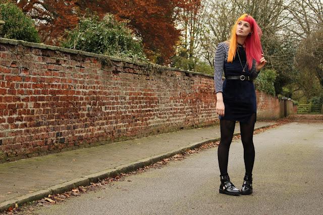BooHoo dress of the month Velvet Dress