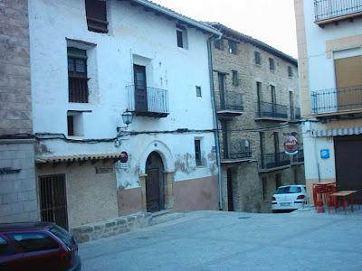iglesia ,San Bartolomé, plaza ,Beceite ,Beseit, horno, Ibáñez, arcada