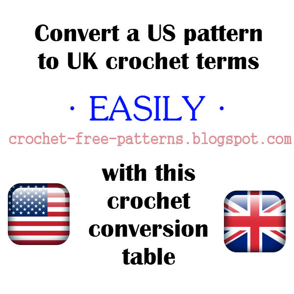 How to convert a US Crochet Pattern to UK crochet terms