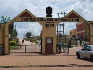 Adeyemi College of Education Departmental Cut-Off Marks 2018