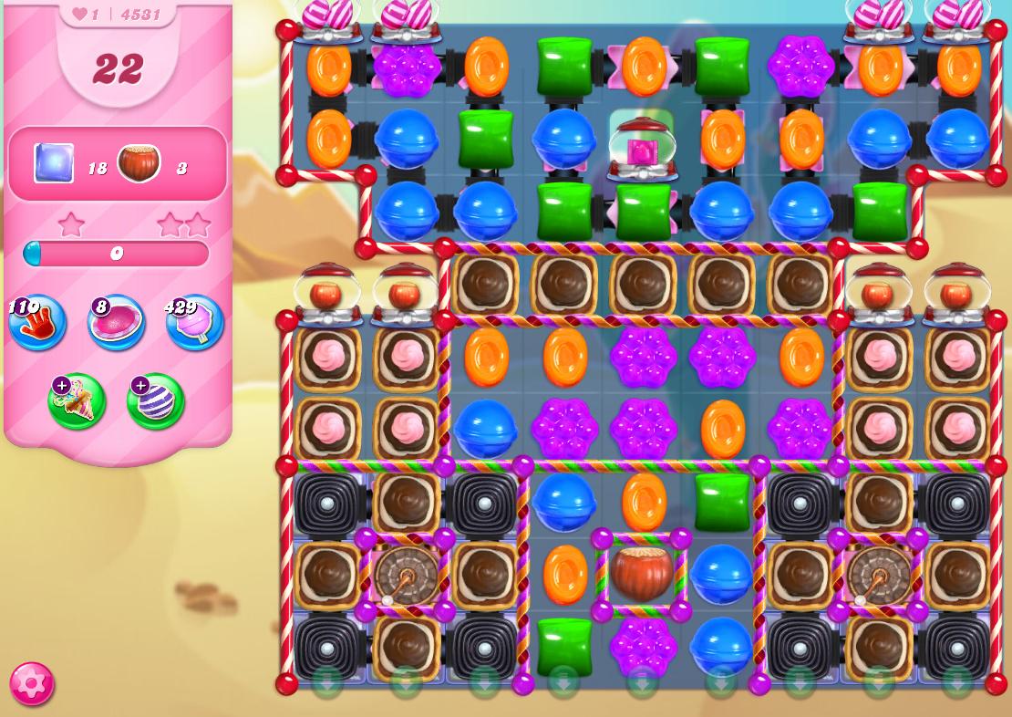 Candy Crush Saga level 4531