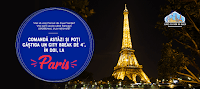 Castiga un city break de 4* la Paris