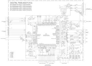 lt-32ex29 - lt-32ex19 - jvc lcd tv - main power supply ... led tv circuit diagram samsung #6