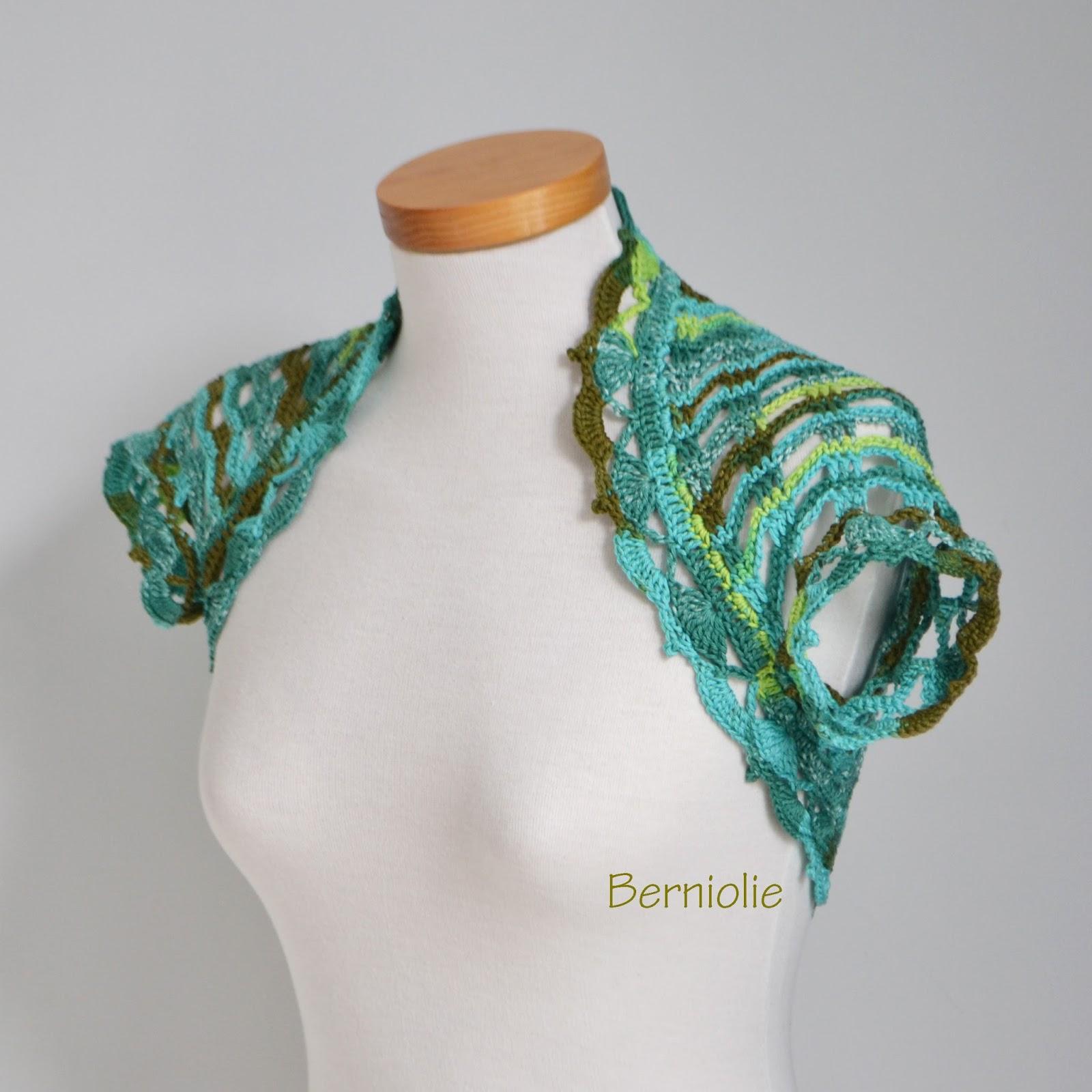 Berniolie Lace Crochet Shrugs