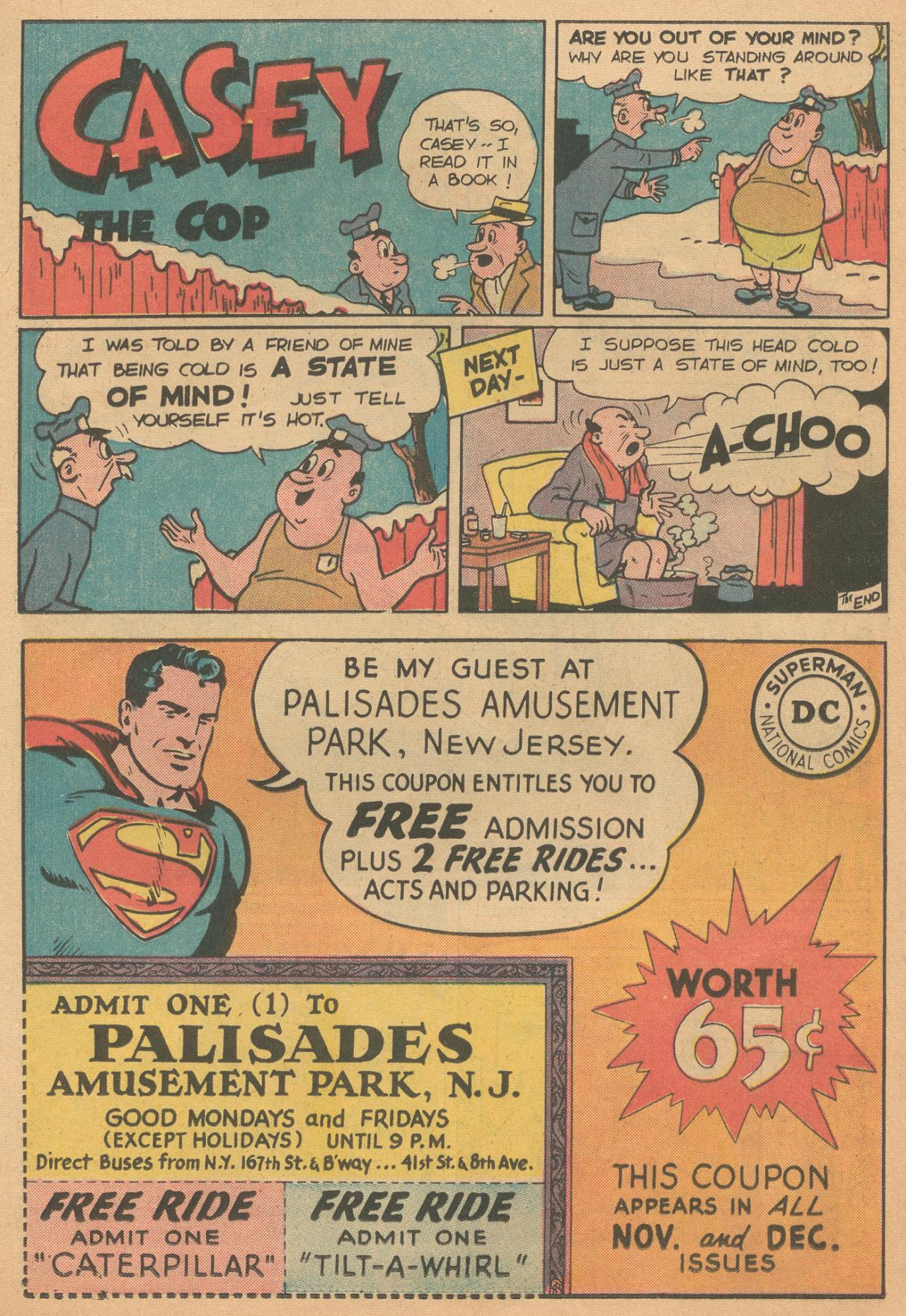 Read online Detective Comics (1937) comic -  Issue #261 - 17