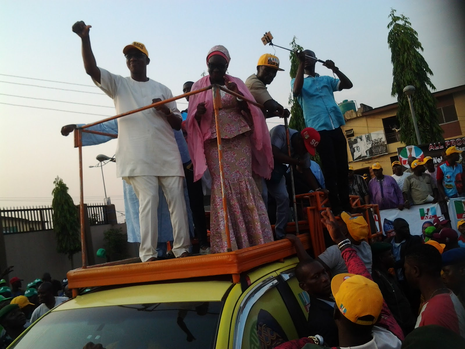ENDORSEMENT GALORE AS OGUN APC HOLDS GOVERNORSHIP CAMPAIGN RALLY IN