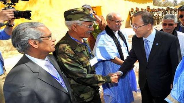 بانكيمون يلتقي بقيادة جبهة البوليساريو والحكومة الصحراوية