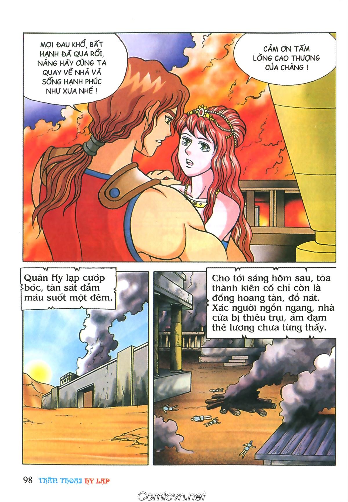 Thần Thoại Hy Lạp Màu - Chapter 69: Thành Troy thất thủ - Pic 28