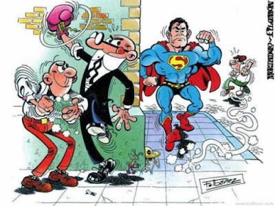 Mortadelo y Filemon Vs Superman