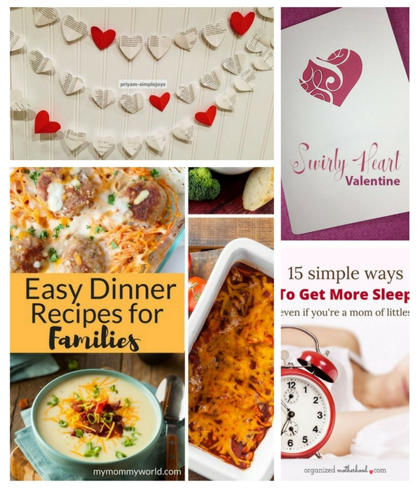Home Crafts by Ali feature pins in UPP 184 link party - valentine crafts recipes and tips