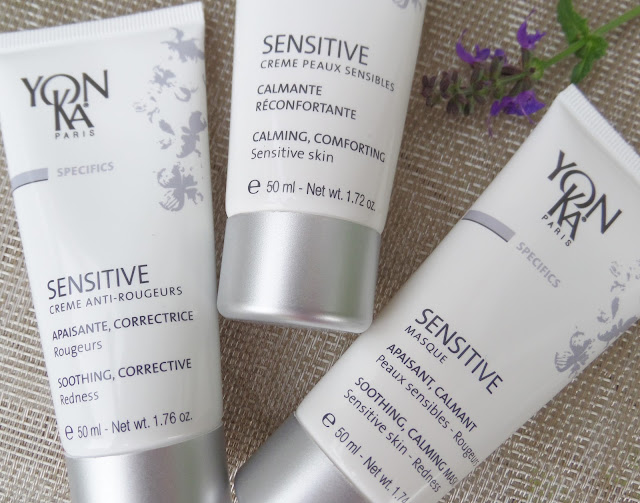 yonka sensitive skin products