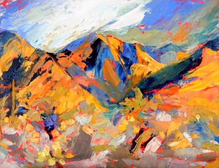 Футуристические пейзажи. Cynthia Rosen