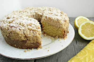 Lemon Coffee Cake with Crumb Topping