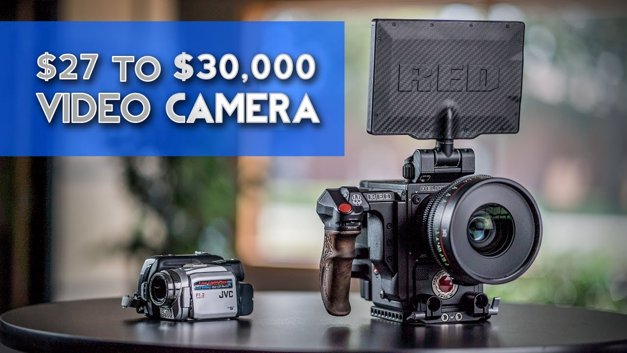 How I Went From a $27 to a $30,000 Video Camera