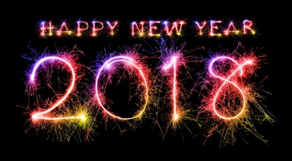 صور تهنئة رأس السنة 2018 Happy New Year أجمل خلفيات بمناسبة الكريسماس