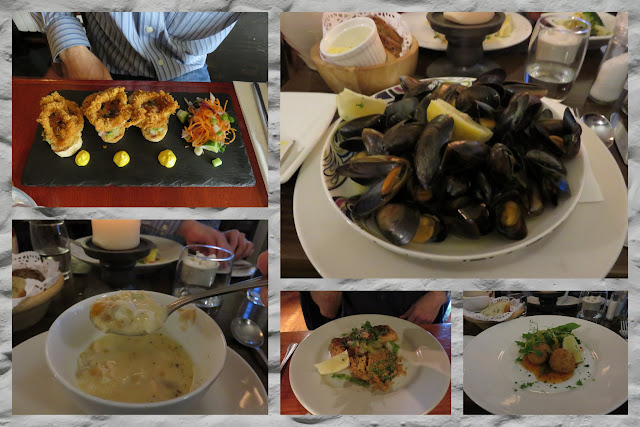 Weekend in Connemara - Seafood meals